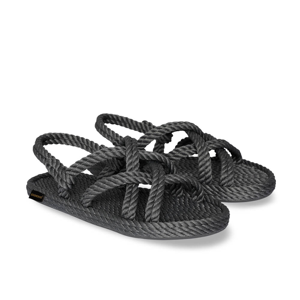 Bodrum Women Rope Sandal – Grey