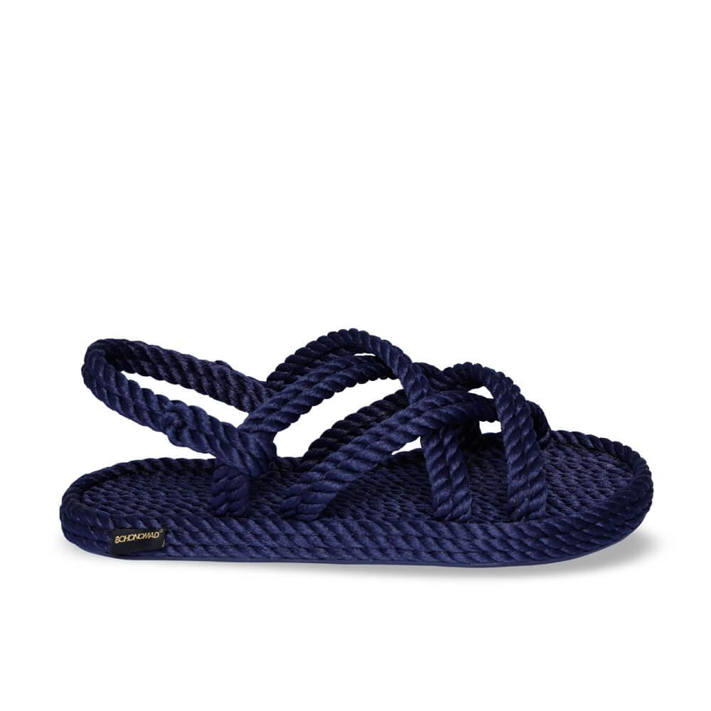 Bodrum sandales à cordon pour femmes – Marine