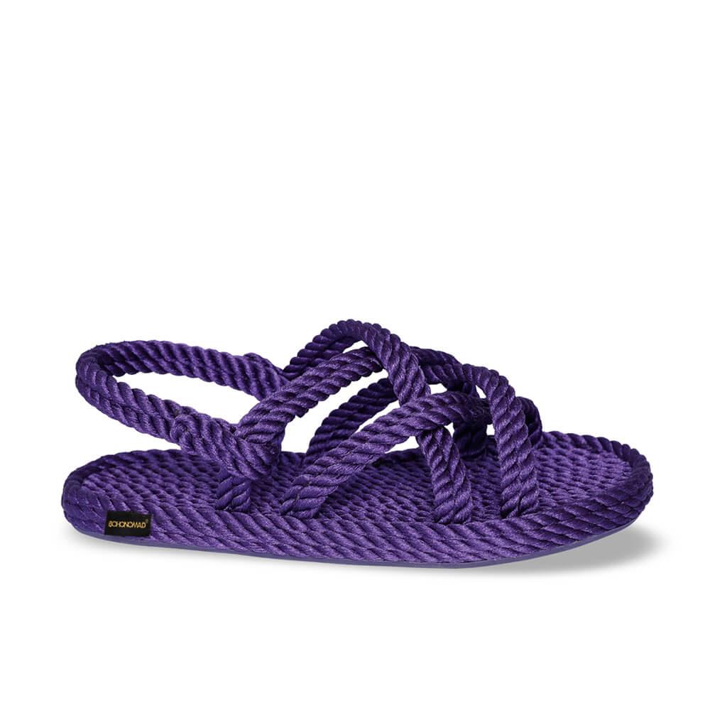 Bodrum Women Rope Sandal – Purple
