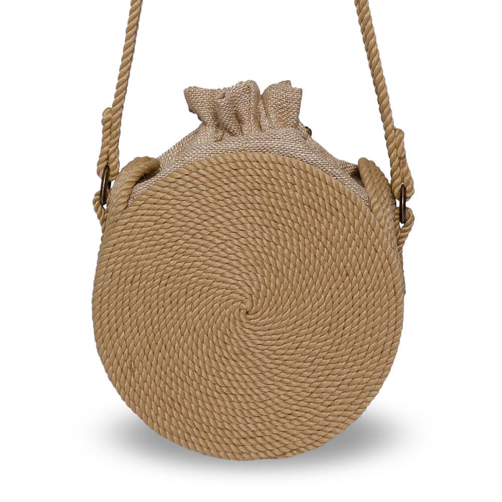 Bohobag sac en corde naturelle