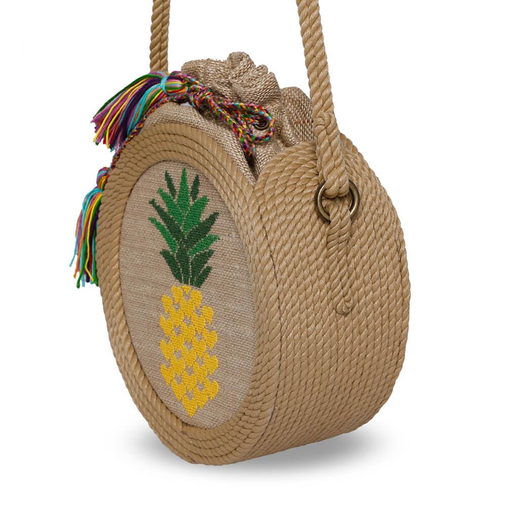 Bohobag l'ananas sacs en corde
