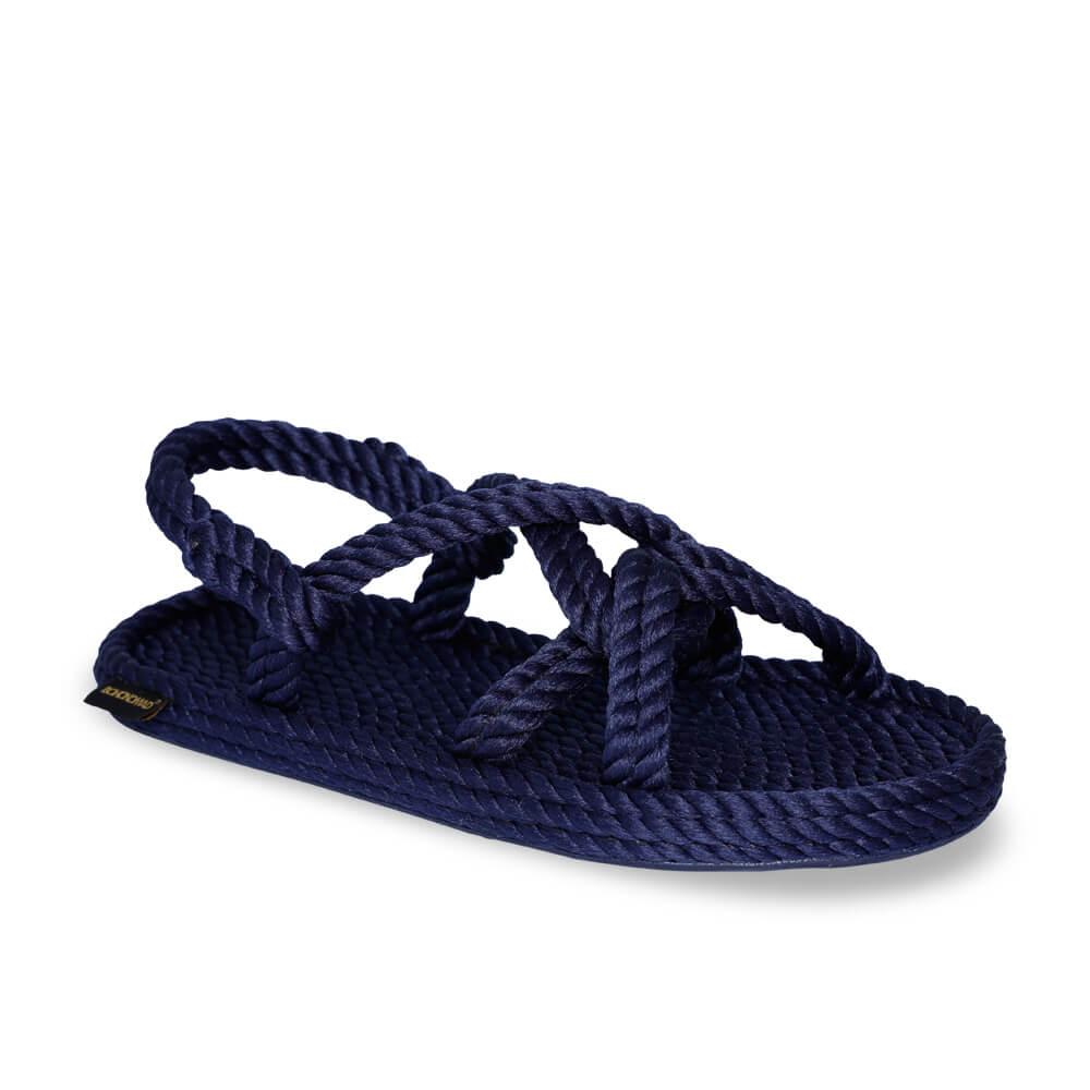 Bora Bora Men Rope Sandal – Navy