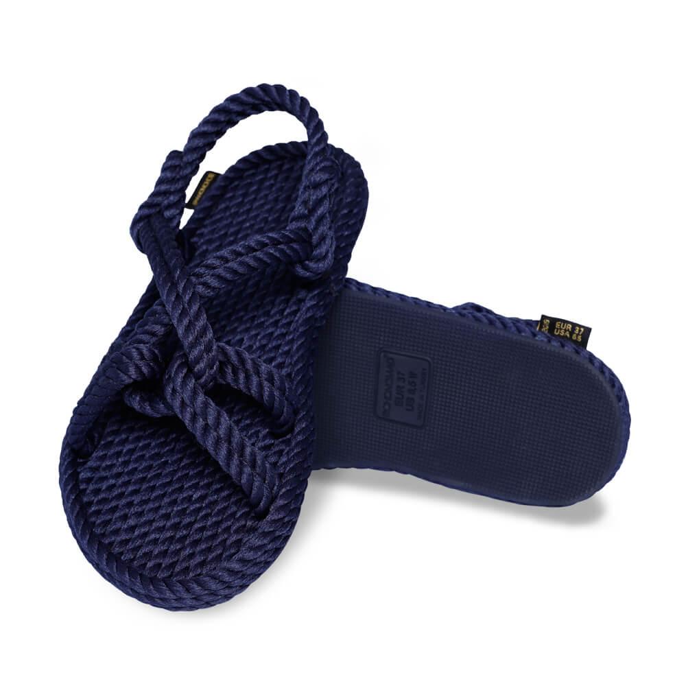 Bora Bora Women Rope Sandal – Navy