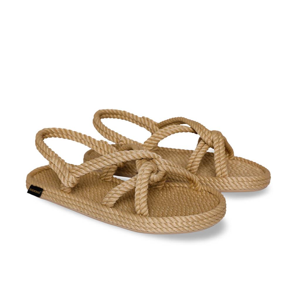 Bora Bora sandale à corde pour hommes – Beige