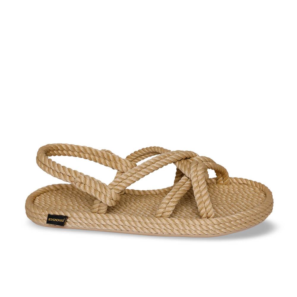 Bora Bora sandales à cordon pour femmes – Beige