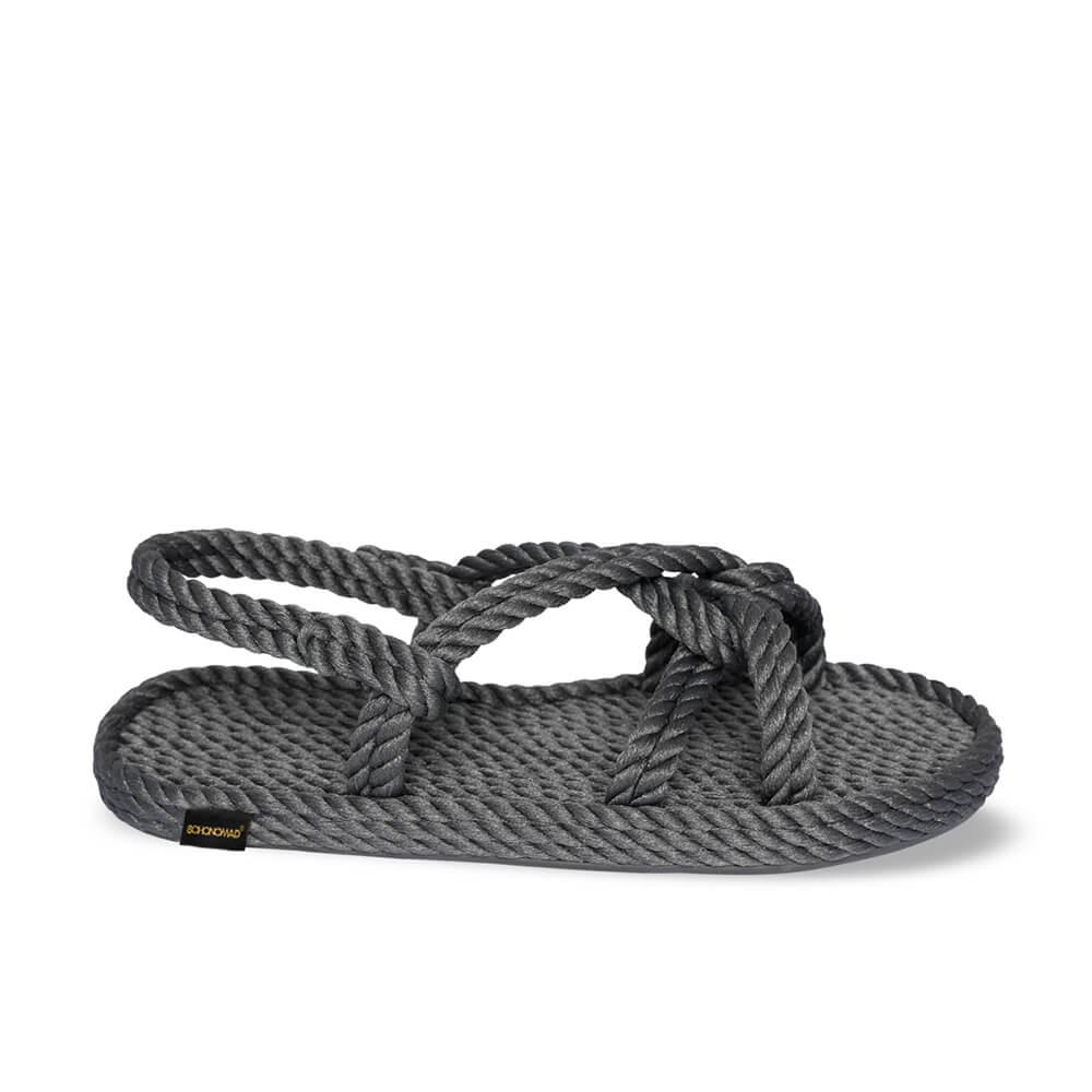 Bora Bora sandale à corde pour hommes – Gris