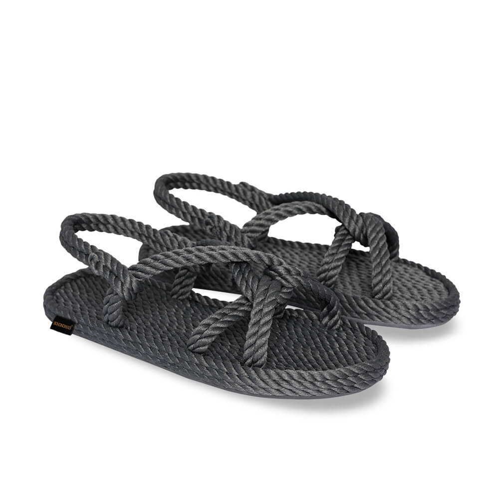 Bora Bora Women Rope Sandal – Grey