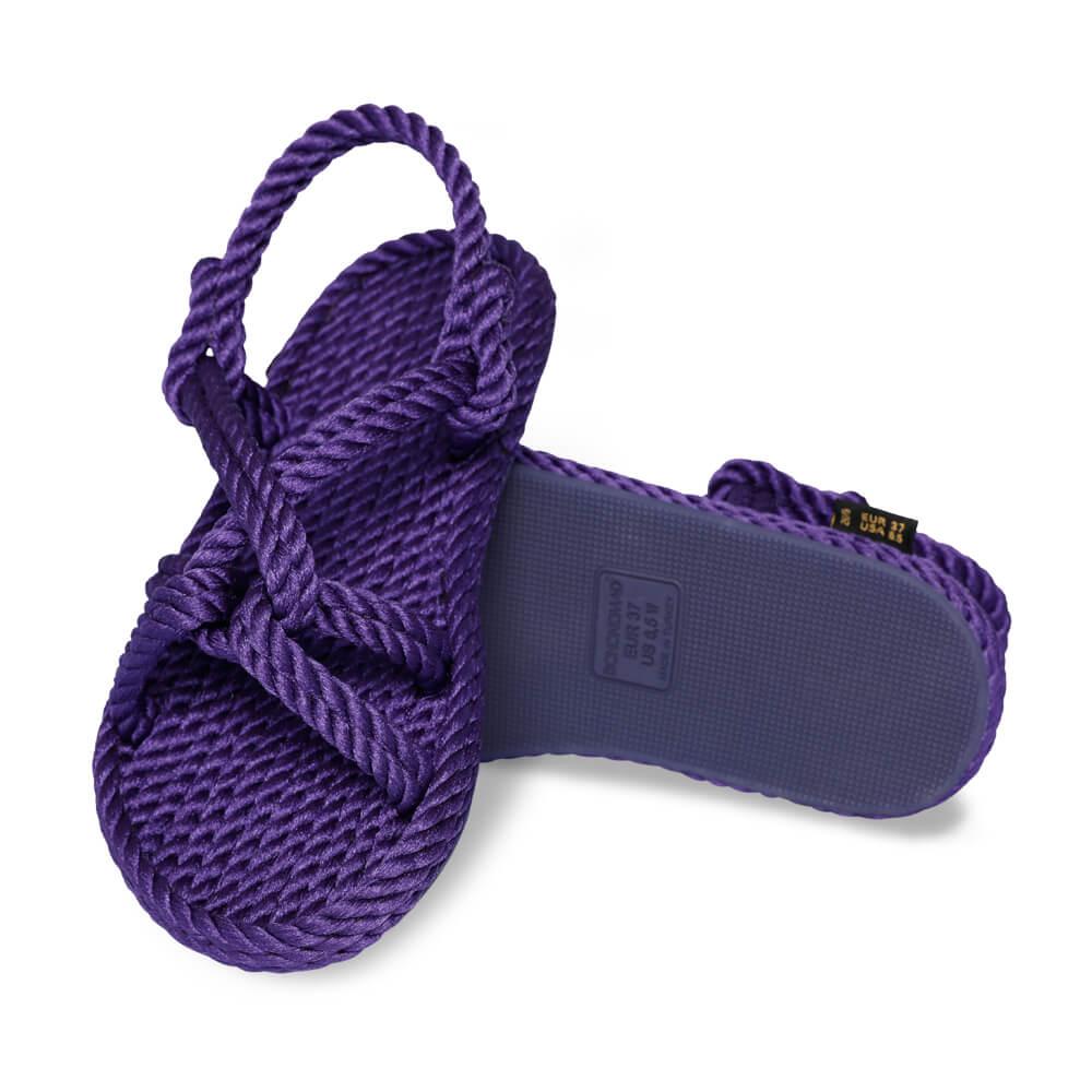 Bora Bora sandales à cordon pour femmes – Violet