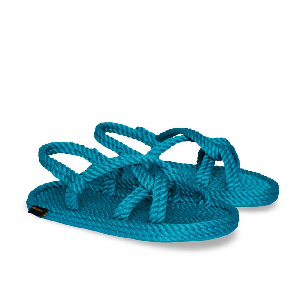 Bora Bora sandales à cordon pour femmes – Turquoise