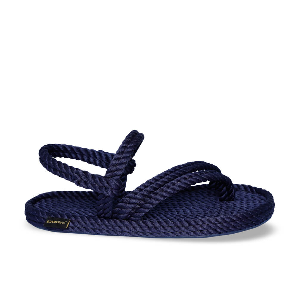 Cancun Women Rope Sandal – Navy