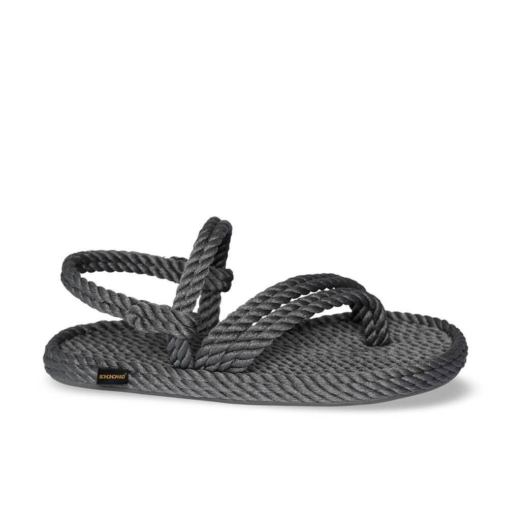 Cancun Women Rope Sandal – Grey