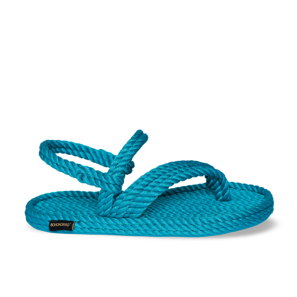 Cancun Women Rope Sandal – Turquoise