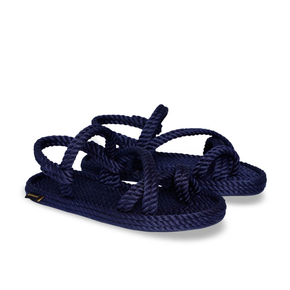 Capri Women Rope Sandal – Navy
