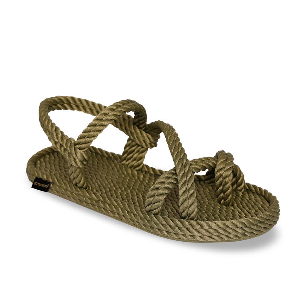 Capri Women Rope Sandal – Khaki