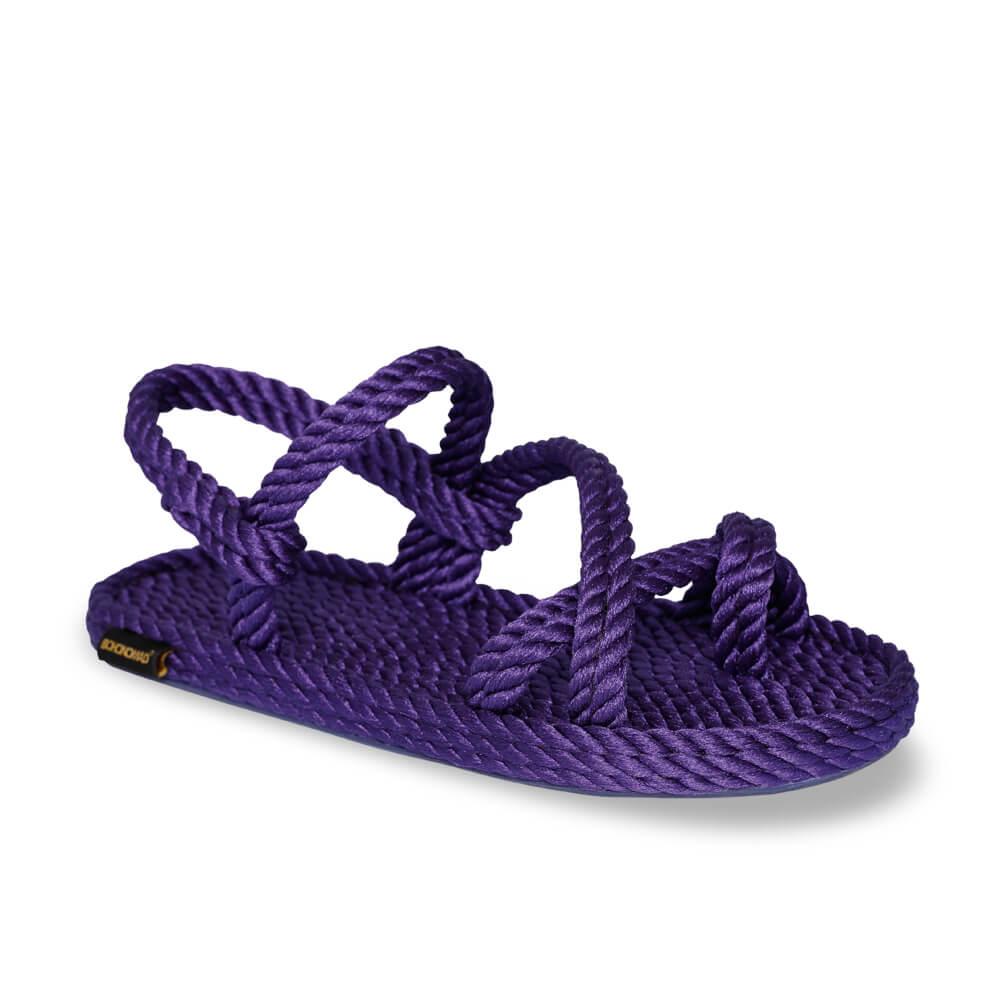 Capri Women Rope Sandal – Purple