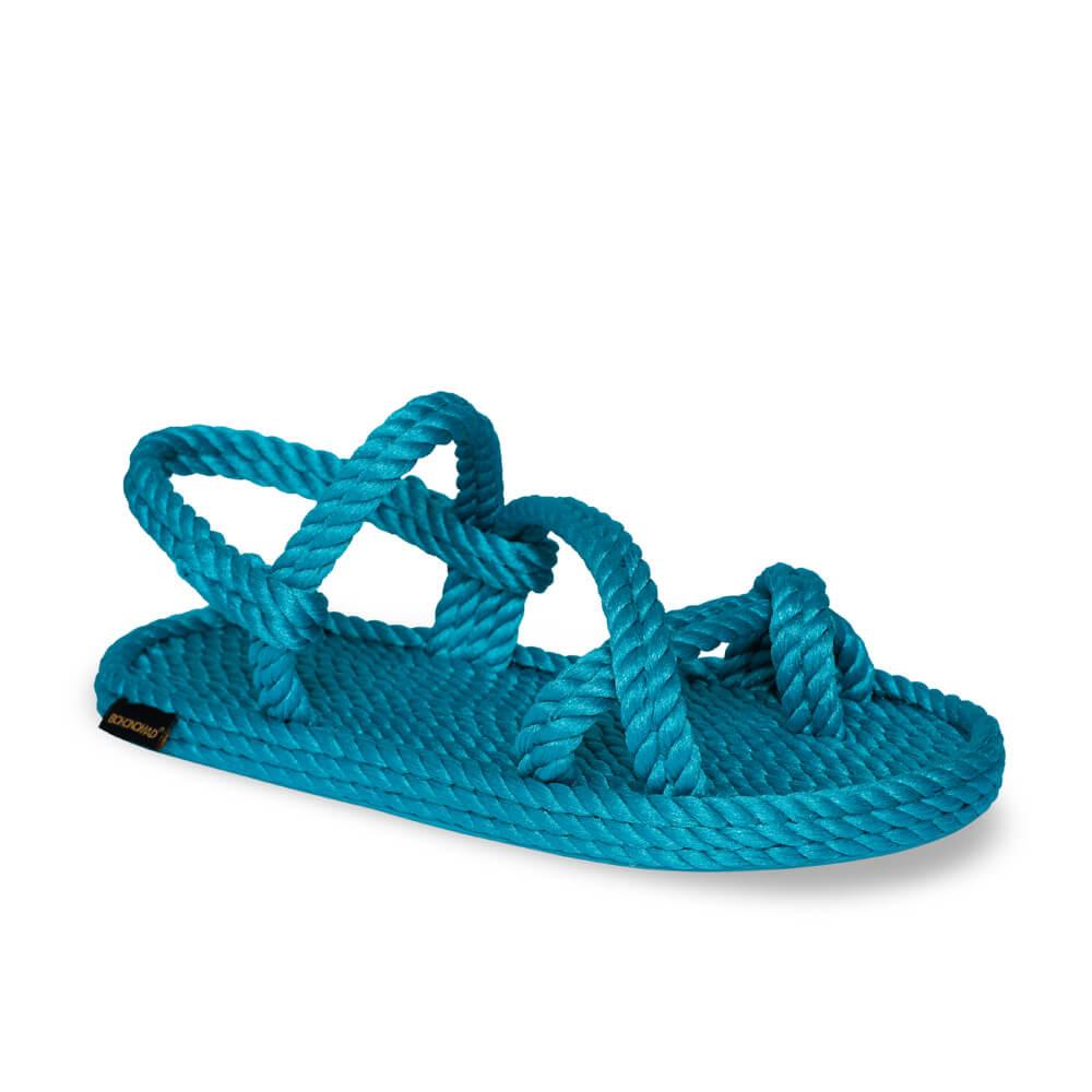 Capri Women Rope Sandal – Turquoise