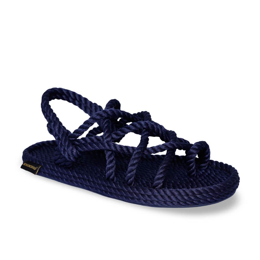 Cape Point sandale à corde pour hommes – Marine