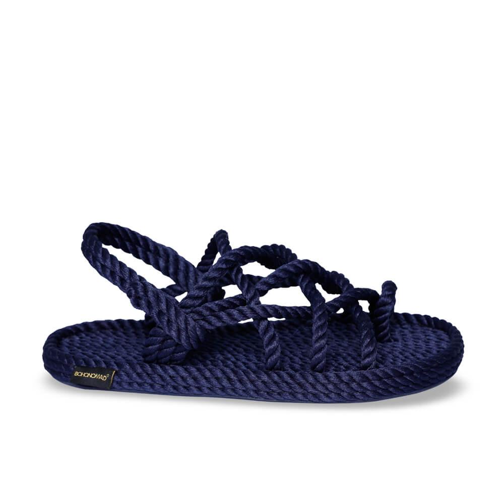 Cape Point Women Rope Sandal – Navy