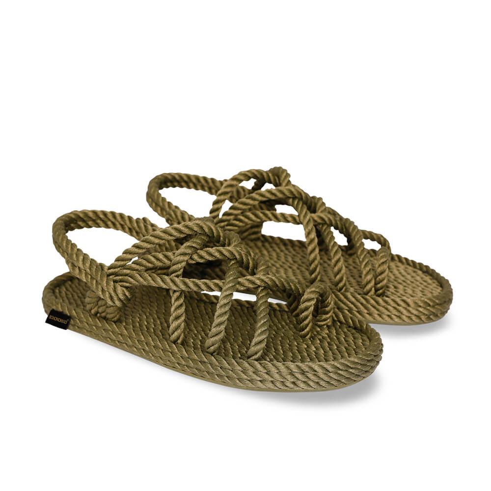 Cape Point sandales à cordon pour femmes – Kaki