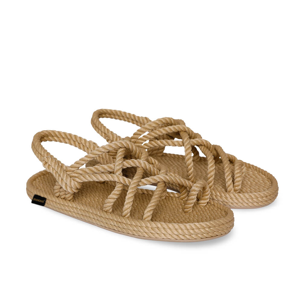Cape Point Men Rope Sandal – Beige