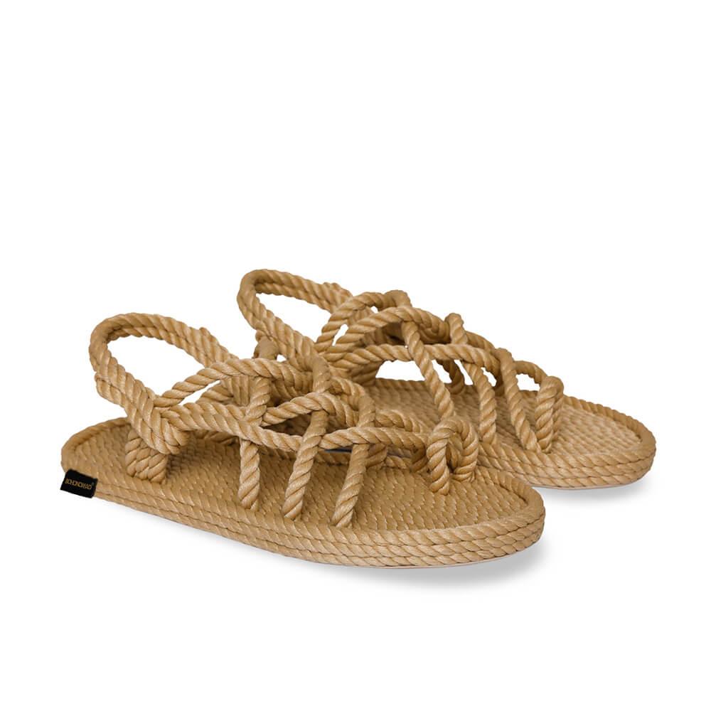 Cape Point Women Rope Sandal – Beige