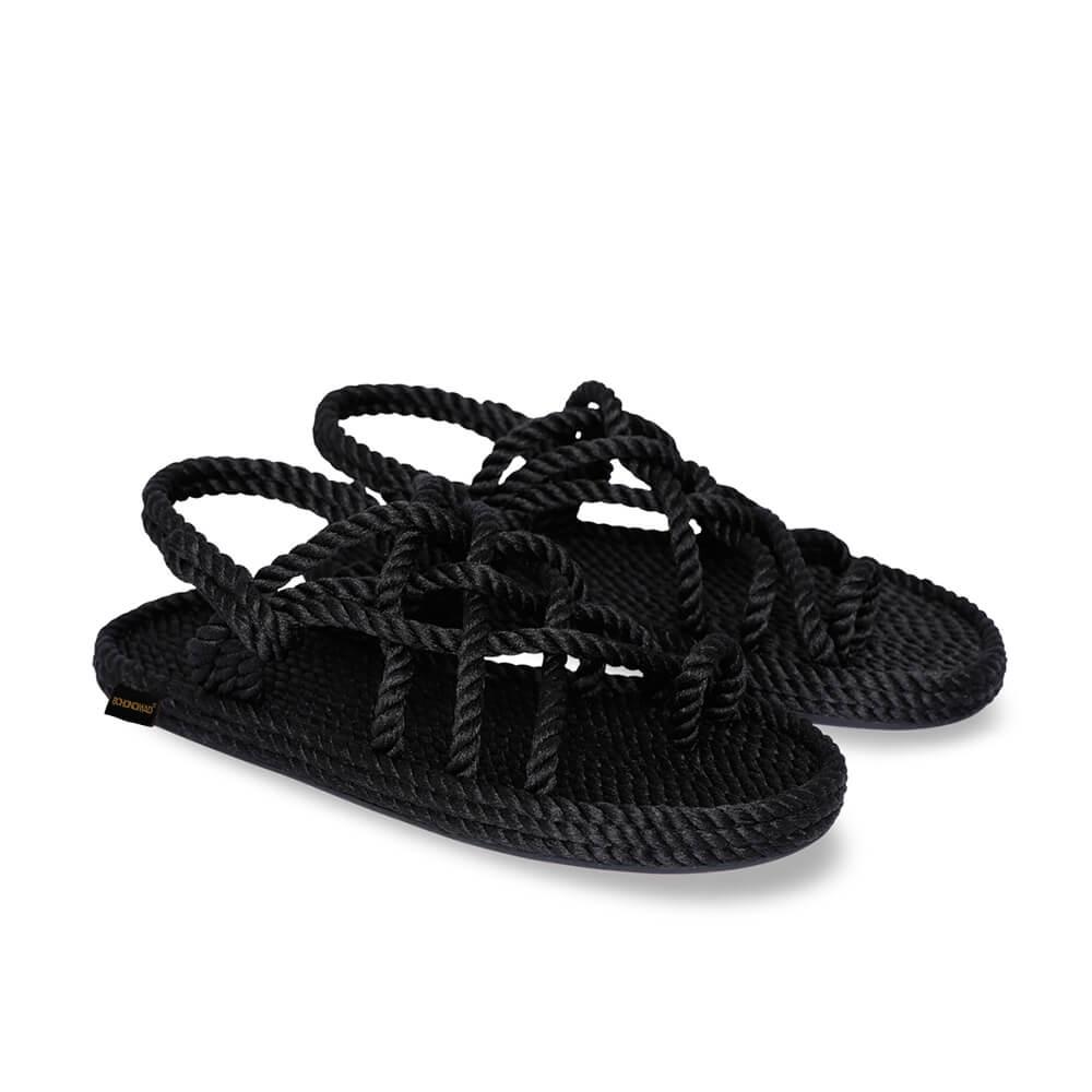 Cape Point Men Rope Sandal – Black