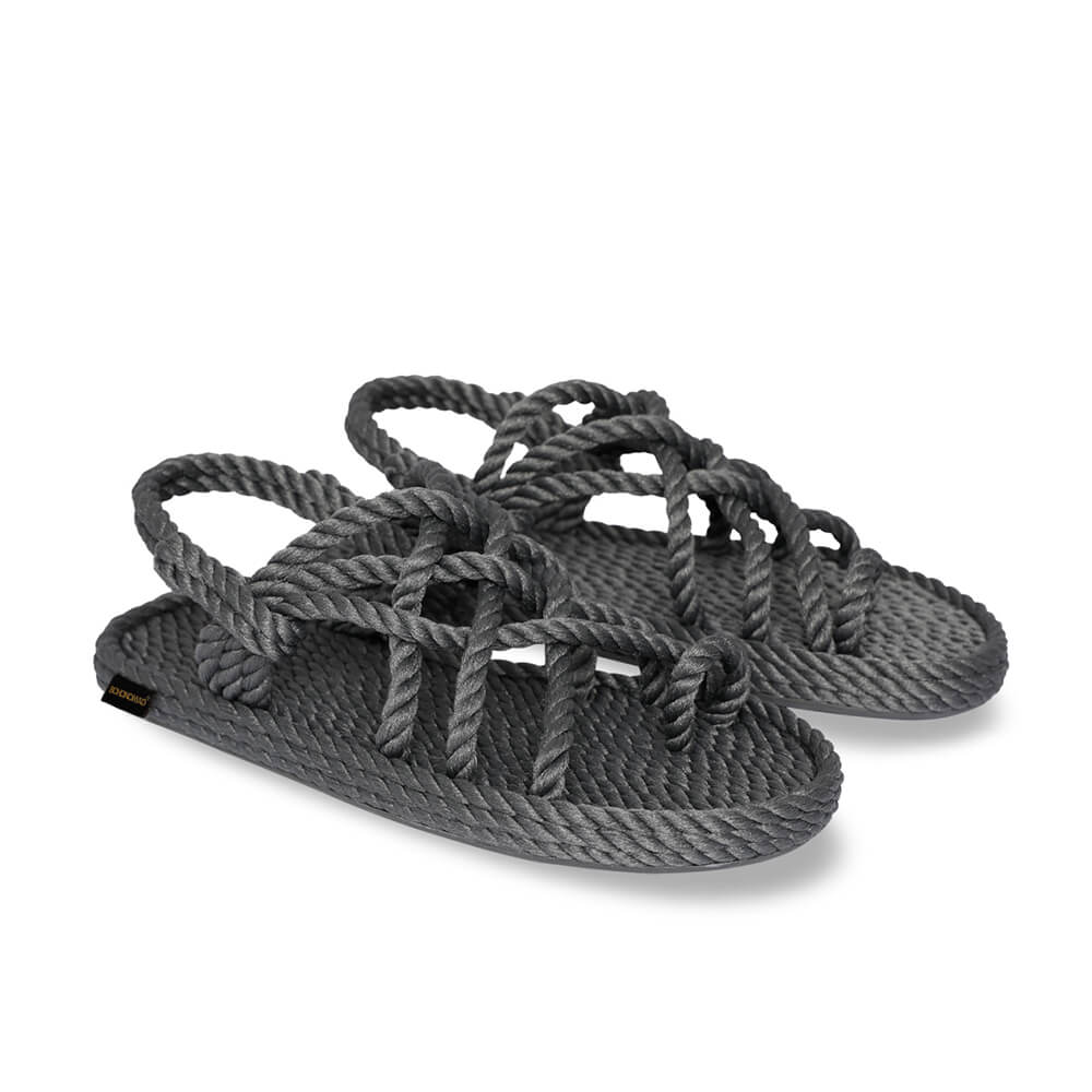 Cape Point Men Rope Sandal – Grey