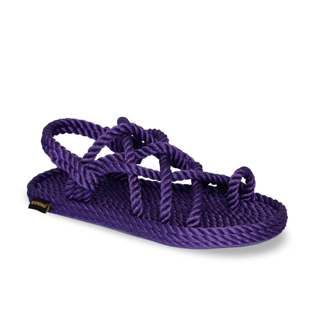 Cape Point sandales à cordon pour femmes – Violet
