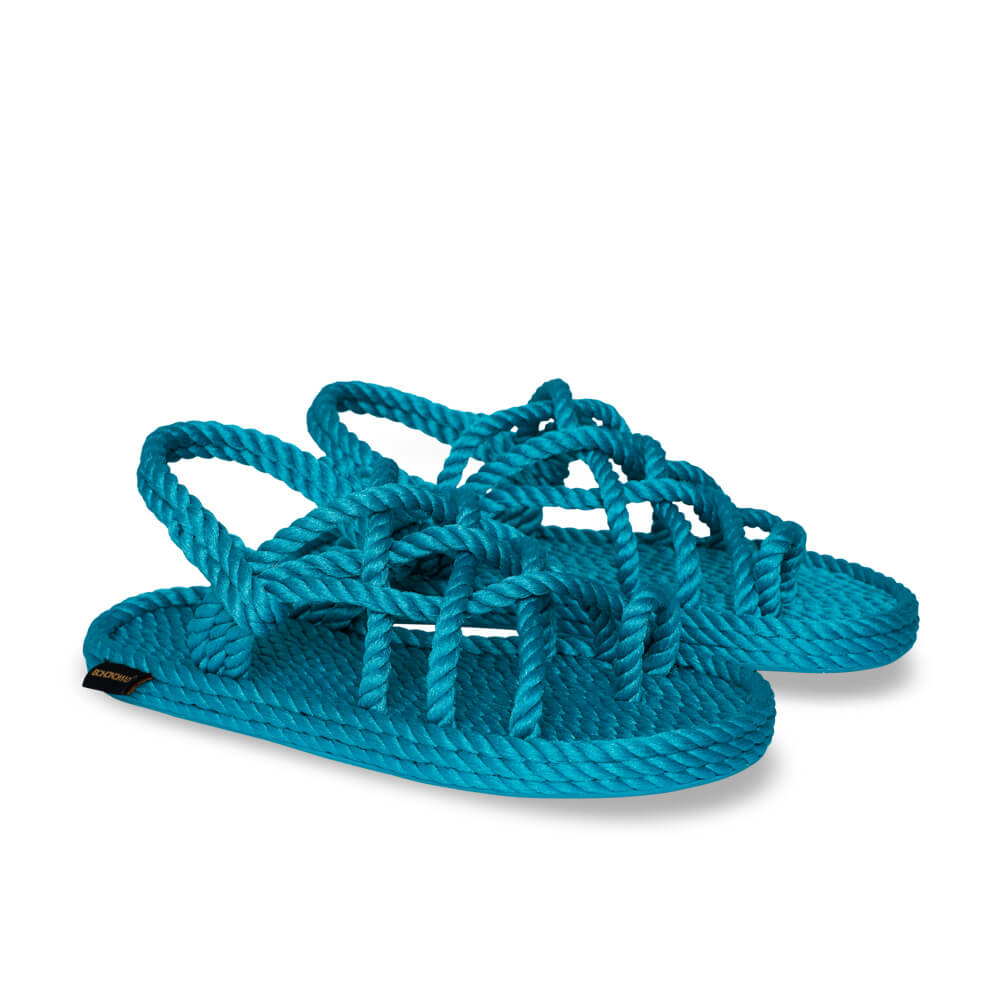 Cape Point Women Rope Sandal – Turquoise