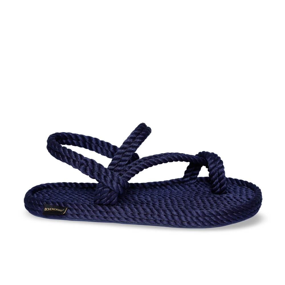 Hawaii sandale à corde pour hommes – Marine