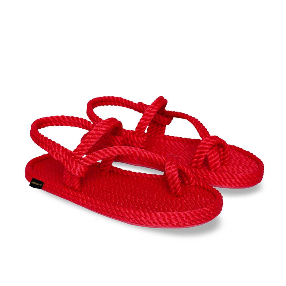 Hawaii Women Rope Sandal – Red