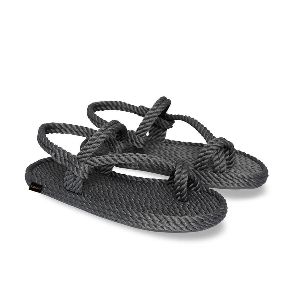 Hawaii sandale à corde pour hommes – Gris