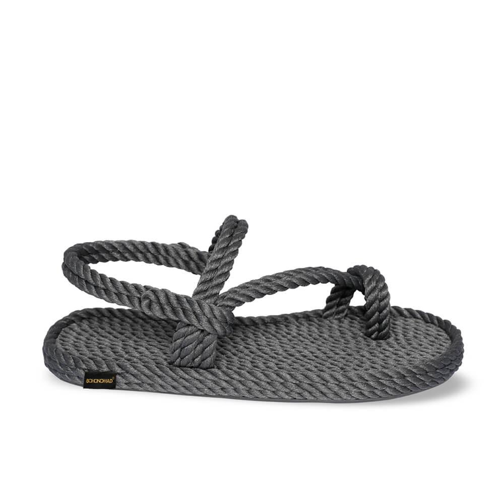Hawaii Women Rope Sandal – Grey