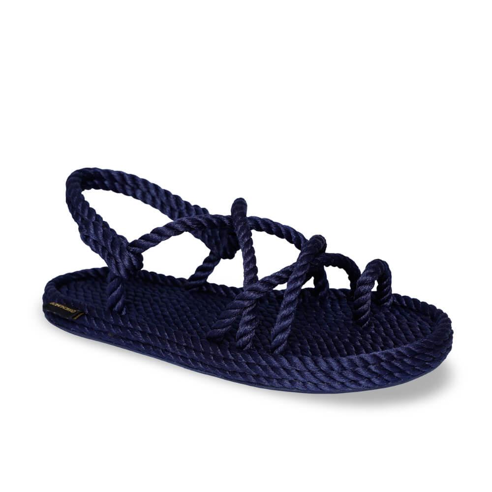 Ibiza Women Rope Sandal – Navy