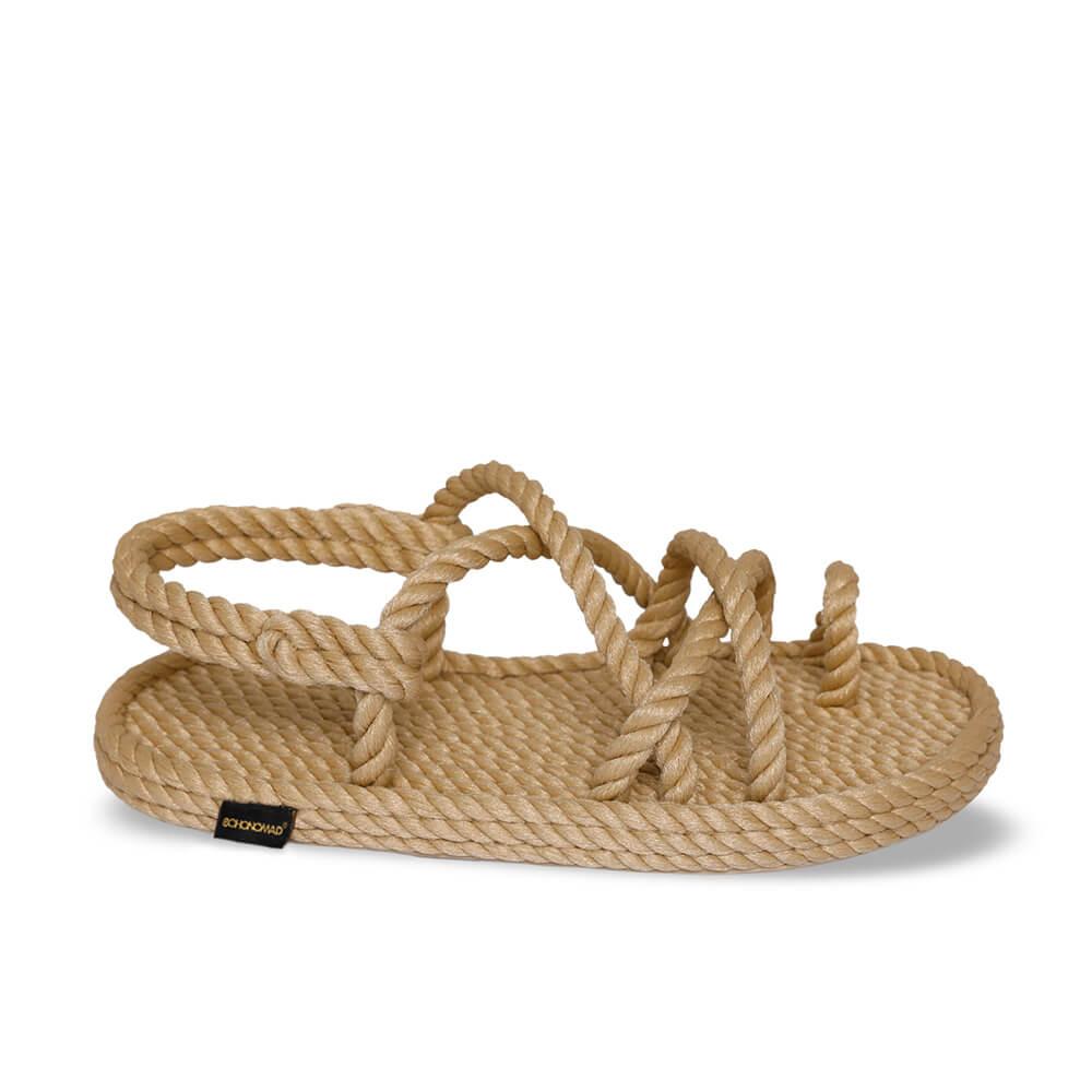 Ibiza Kids Rope Sandal – Beige