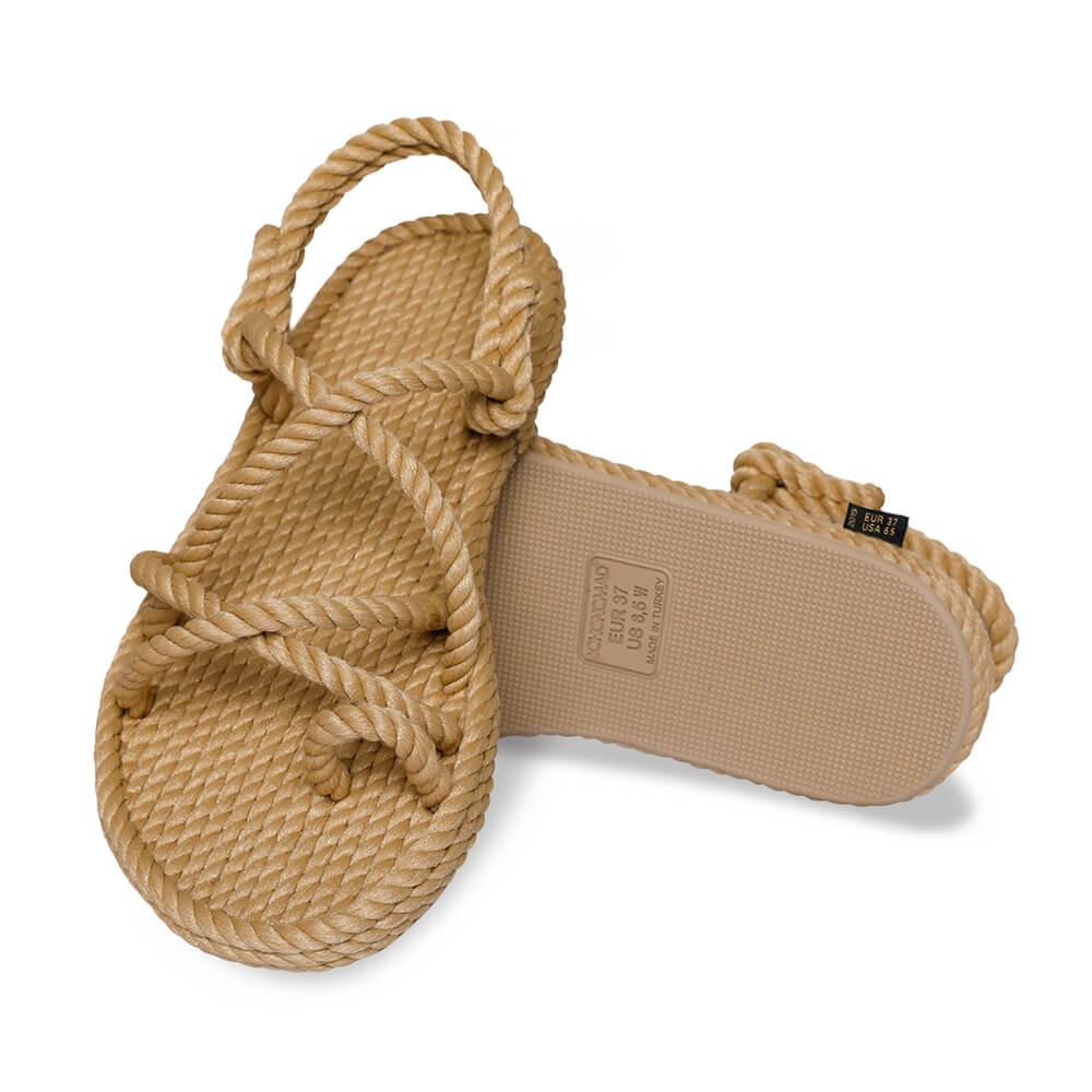 Ibiza Women Rope Sandal – Beige