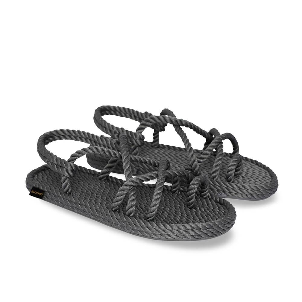 Ibiza Women Rope Sandal – Grey