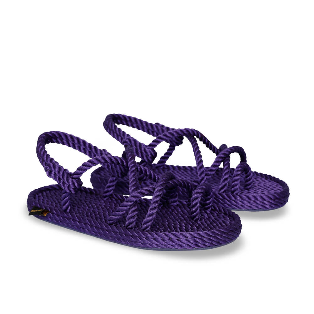Ibiza Women Rope Sandal – Purple