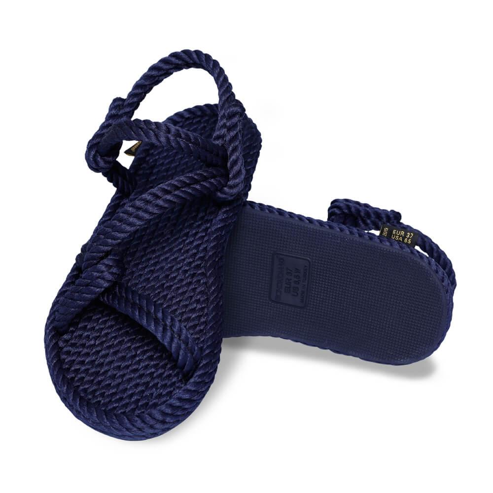 Mykonos Women Rope Sandal – Navy