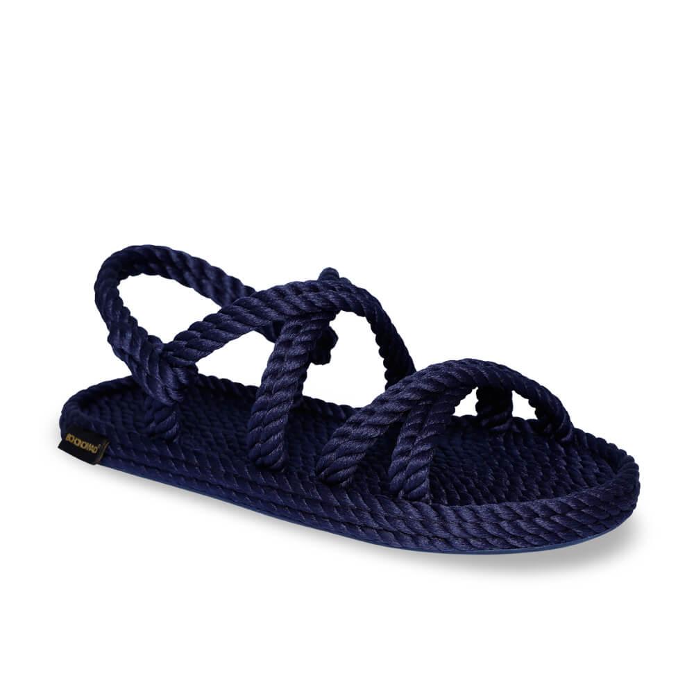 Tahiti sandale à corde pour hommes – Marine