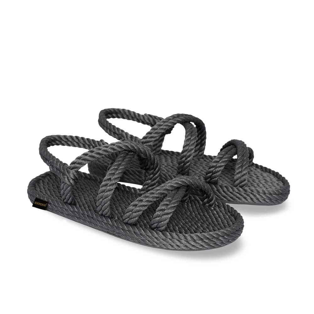 Tahiti Women Rope Sandal – Grey
