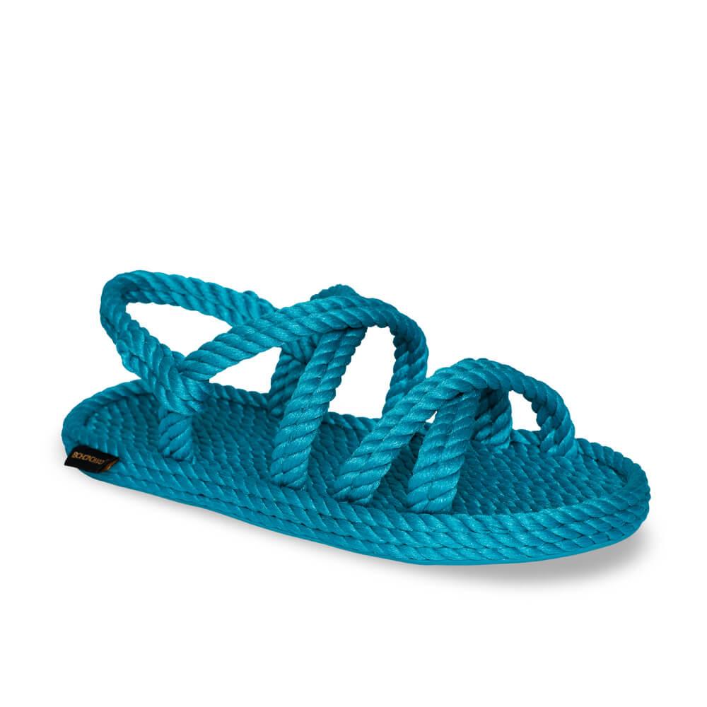 Tahiti Women Rope Sandal – Turquoise